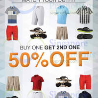 Read more about C.E.D.S Sportswear 50% Off 2nd Item 8 Jan 2015