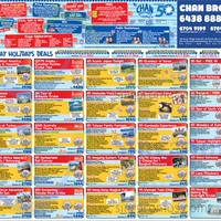 Read more about Chan Brothers Everyday Holidays 1-Day Travel Fair @ Suntec 1 Feb 2015
