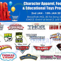 Read more about Branded Character Apparel & Footwear Promo @ BreadTalk IHQ 2 - 15 Jan 2015