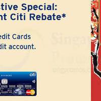 Read more about Citibank Credit Cards Apply & Get $68 Instant Citi Rebate 21 Jan - 2 Feb 2015
