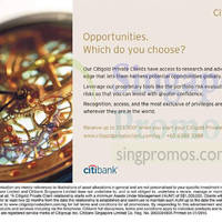 Read more about Citibank Citigold Up To $3,000 Gift 15 Jan 2015