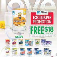 Abbott Milk Powder Free Voucher Promotion @ Cold Storage 30 Jan - 5 Feb 2015