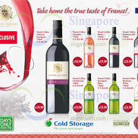 Cold Storage French Cellars Wine Offers 29 Jan - 1 Feb 2015