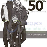 Read more about Coldwear 50% Off 2nd Piece 30 Jan - 15 Feb 2015