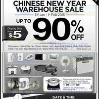 Read more about Cornell Up To 90% OFF Warehouse SALE 31 Jan - 1 Feb 2015
