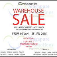 Read more about Crocodile Warehouse SALE 9 Jan - 18 Feb 2015