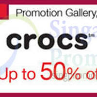 Read more about Crocs Promotion @ Isetan Orchard 15 Jan - 1 Feb 2015