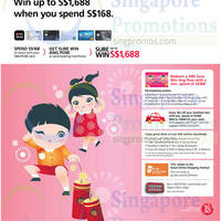 DBS & POSB Card CNY Promotions 23 Jan 2015
