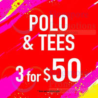 Read more about Denizen $50 For 3 Polo & Tees & More Promotion Offers 15 Jan 2015