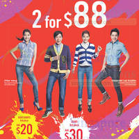 Read more about Denizen Two Jeans for $88 Offer 23 Jan 2015