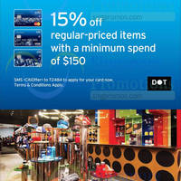 Read more about Dot 15% Off Storewide For Citibank Cardmembers 15 Jan - 28 Feb 2015