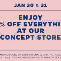 Dressabelle 30% Off Storewide Promo 30 - 31 Jan 2015