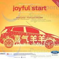 Ford Fiesta 1.0A EcoBoost Offer 31 Jan 2015