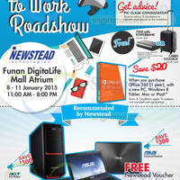 Read more about Newstead Back to Work Roadshow @ Funan DigitaLife Mall 8 - 11 Jan 2015