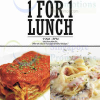 Read more about Gelare 1 for 1 Lunch Weekdays Promo 20 - 25 Jan 2015