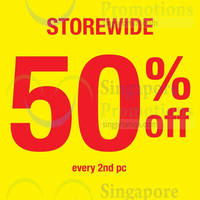 Read more about Giordano 50% Off 2nd Piece Promo 19 Jan 2015