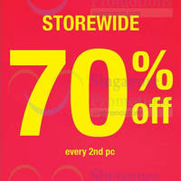 Read more about Giordano 70% Off 2nd Piece 6 Jan 2015
