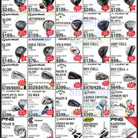 Golf Direct Lunar New Year Super Sale Offers 30 Jan - 15 Feb 2015
