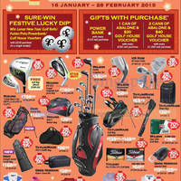 Read more about Golf House Lunar New Year Sale Offer 15 Jan - 28 Feb 2015