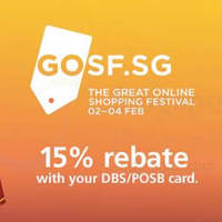 Read more about Great Online Shopping Festival 2 - 4 Feb 2015