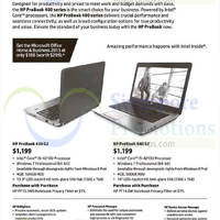 Read more about HP ProBook Notebooks Offers 21 Jan 2015