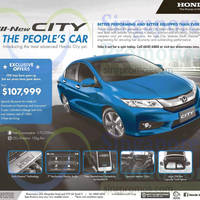 Read more about Honda City Offer 31 Jan 2015