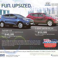 Read more about Hyundai Tucson & Hyundai Santa Fe Offers 3 Jan 2015