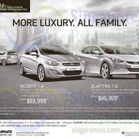 Hyundai Accent & Elantra Offers 31 Jan 2015