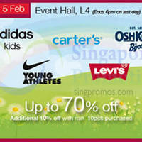 Read more about Isetan Adidas, Levis & Nike Offers Promotion @ Isetan Scotts 30 Jan - 5 Feb 2015
