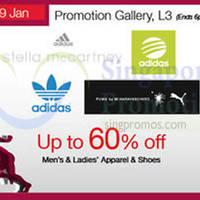 Read more about Adidas Men's, Ladies Apparel & Shoes Promotion @ Isetan Scotts 23 - 29 Jan 2015