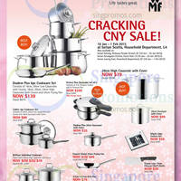 Read more about WMF Cookware Offers @ Isetan 16 Jan - 1 Feb 2015