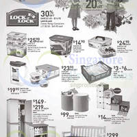 John Little Lock & Lock, Kaidi & Keter Houseware Specials 30 Jan - 1 Feb 2015