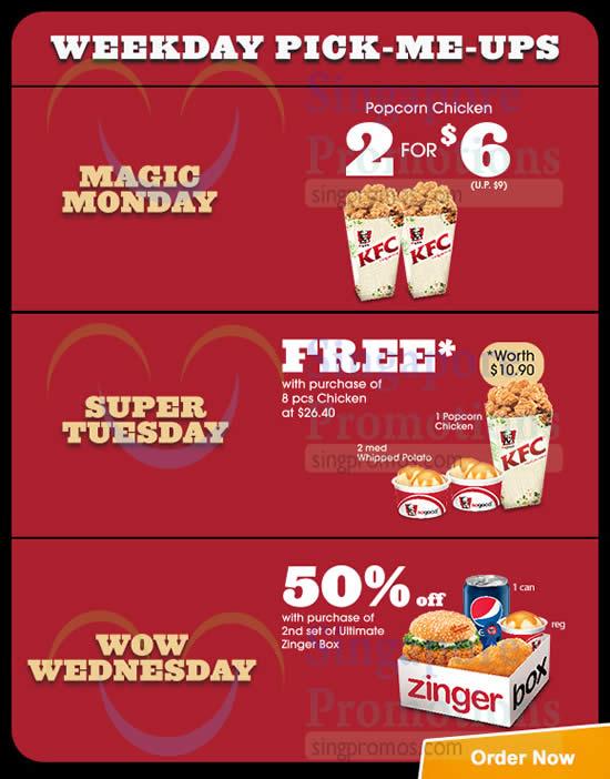 KFC Delivery 5 Jan 2015