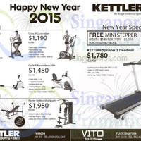 Read more about Kettler Fitness Equipment Offers 16 Jan 2015