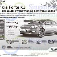 Kia Forte K3 Demo Offer 31 Jan 2015