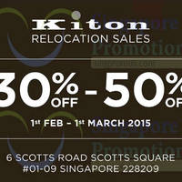 Read more about Kiton Scotts Square Relocation Sale 1 Feb - 1 Mar 2015