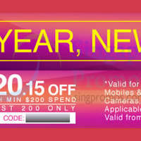Read more about Lazada Singapore $15 OFF 1-Day Coupon Codes 2 - 4 Jan 2015