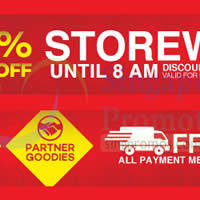 Lazada 10% OFF 8hr Storewide Promotion Till 8am 27 Jan 2015