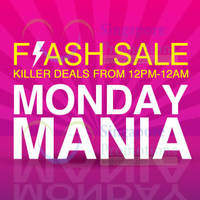 Lazada Monday Mania 12hr Special Offers 31 Aug 2015