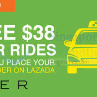 Read more about Lazada Free $38 Uber Rides For First Orders 1-Day Promo 27 Jan 2015