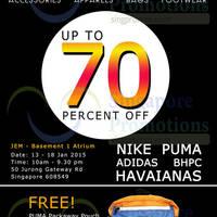 Read more about Link THM Mega SALE (Puma, Nike, Adidas & More) 13 - 18 Jan 2015