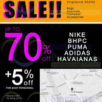 Read more about Link THM Up to 70% Nike, Puma, Adidas & More Sale @ Tai Seng 19 - 25 Jan 2015