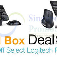 Logitech Up To 60% OFF Selected Products 24hr Promo 27 - 28 Jan 2015