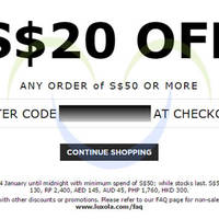 Read more about Luxola $20 OFF Storewide Coupon Code 7 - 8 Feb 2015
