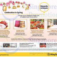 Read more about Maybank Credit Cards Charge & Redeem 9 - 30 Jan 2015