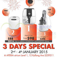 Read more about Mayer 3 Days Specials @ Aperia Mall 2 - 4 Jan 2015