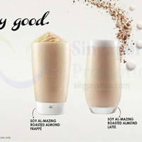 Read more about McDonald's McCafe NEW Soy Roasted Almond Frappe & Latte 7 Jan 2015
