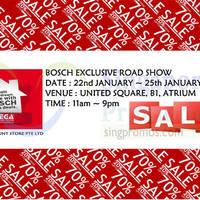 Read more about Bosch Roadshow by Mega Discount Store @ United Square 22 - 25 Jan 2015