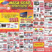 Read more about Mega Discount Store TVs, Gas Hobs & Other Appliances Offers 24 Jan 2015