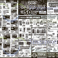 Read more about Mega Discount Store TVs, Gas Hobs & Other Appliances Offers 3 - 4 Jan 2015